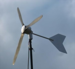 Black 600 windgenerator