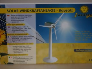 Windkraft bausatz