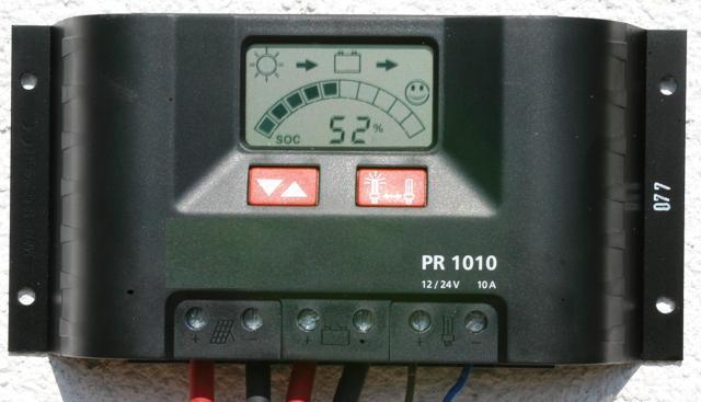 Laderegler Von Steca Pr 1010 F 252 R Solarmodule Vwa Deutschland